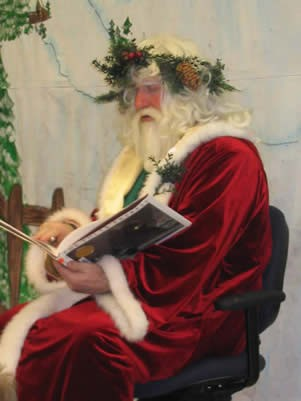 Photo of Terry Lynch as St. Nicholas courtesy Histories for Kids